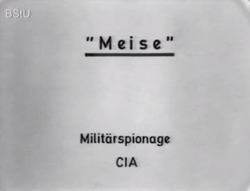 """""""Meise"""" - Propagandafilm über eine verhinderte Anwerbung"""