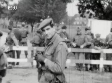 Britische Militäreinheit an der innerdeutschen Grenze