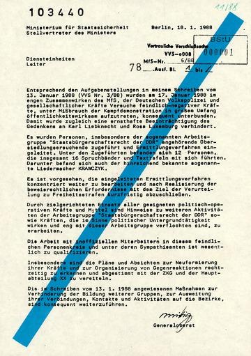 Schreiben an alle Diensteinheiten zur Verhinderung einer Neuformierung der AG Staatsbürgerschaftsrecht
