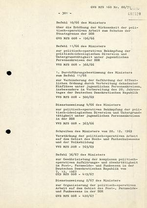 Anforderungen und Wege der weiteren Qualifizierung der Arbeit mit Führungs-IM