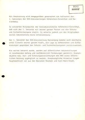 Reaktionen von Mitarbeitern des MfS auf die politischen Veränderungen im Herbst 1989