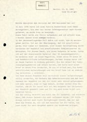 Von Werner Teske unterschriebenes Geständnis