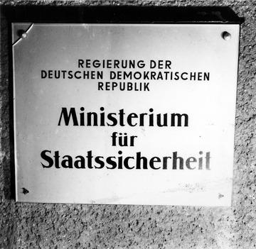 """Außenaufnahmen von """"Haus 2"""" der Stasi-Zentrale in Berlin-Lichtenberg"""
