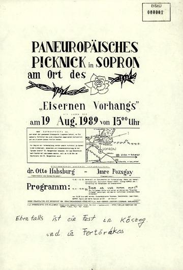 Einladung zum paneuropäischen Picknick