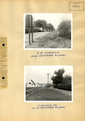 Fotodokumentation der Grenzschleuse Lübeck-Schlutup auf westlicher Seite