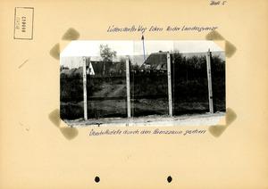 Fotodokumentation der Grenzschleuse Lübeck-Schlutup auf östlicher Seite