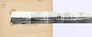 Panoramaaufnahmen der Umgebung der Grenzschleuse Lübeck-Schlutup