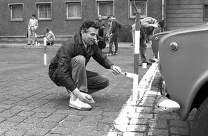 """""""Mach mit!""""-Einsatz zum 100. Geburtstag Ernst Thälmanns in der Berliner Stasi-Zentrale"""