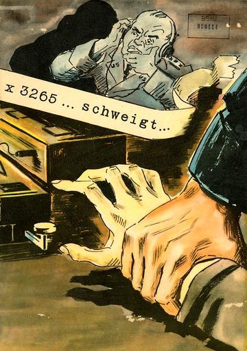 Propagandabroschüre zum Volksaufstand des 17. Juni 1953
