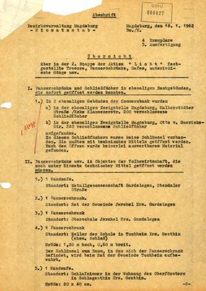 """Übersicht zur zweiten Etappe der Aktion """"Licht"""""""