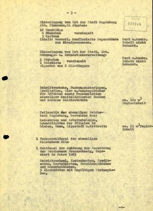 """Abschlussbericht der BV Magdeburg zur Aktion """"Licht"""""""