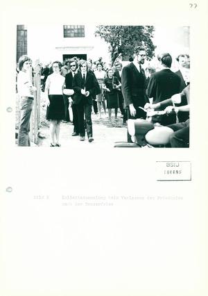 Fotos der Beerdigung von Pfarrer Brüsewitz