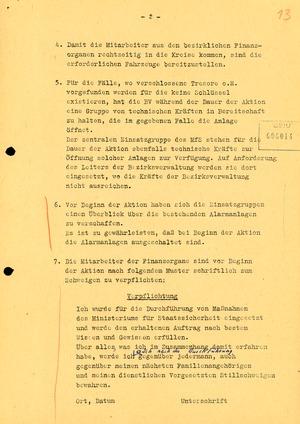 """Schreiben Erich Mielkes an den Leiter der BV Erfurt zur Aktion """"Licht"""""""