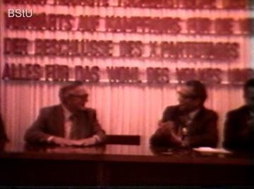 """Podiumsveranstaltung mit Kim Philby in """"Haus 22"""" der Stasi-Zentrale (2)"""