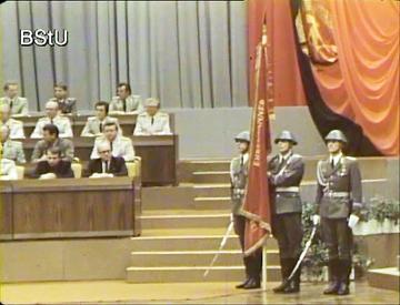 Festveranstaltungen zum 35. Jahrestag des Ministeriums für Staatssicherheit