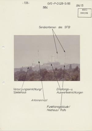 Bilderserie zur US Army Field Station Berlin auf dem Teufelsberg