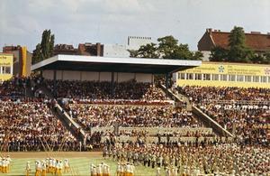 Eröffnungsfeier der X. Weltfestspiele der Jugend und Studenten 1973 in Ost-Berlin