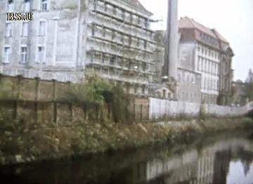Dokumentation des Grenzbereichs in Berlin-Mitte von West-Berliner Seite