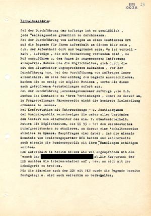 """Auftrag für den westdeutschen IM """"Hermann"""""""