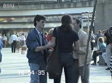 Festnahmen am Berliner Alexanderplatz