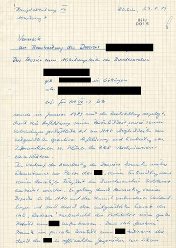 """Erkenntnisse aus der Arbeit von IME """"Zentrum"""" über das Bundesarchiv"""
