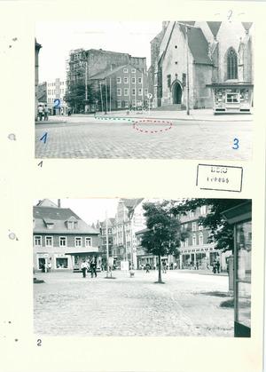 Fotos vom Ort der Selbstverbrennung von Pfarrer Brüsewitz