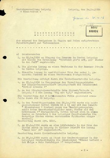 Zusammenfassung der kritischen Stimmen während des ungarischen Volksaufstandes