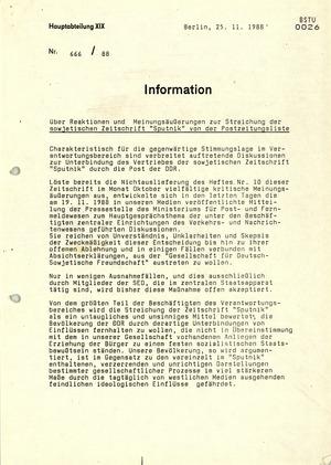 """Reaktionen auf das """"Sputnik""""-Verbot von Beschäftigten des Verkehrs- und Nachrichtenwesens"""