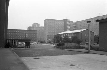 Innenhof der Stasi-Zentrale
