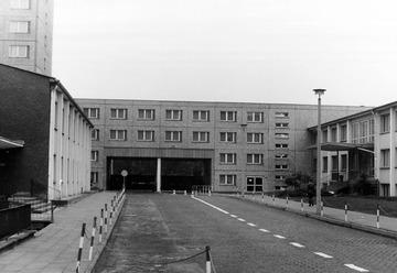 Haupttor der Stasi-Zentrale (Innenhof)