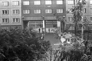Haupttor der Stasi-Zentrale