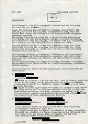 """Einschätzung der """"Wirksamkeit der Zuführungspunkte"""" während des Wasunger Karnevals 1989"""