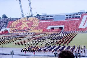 Dia-Serie von der Eröffnung des VIII. Turn- und Sportfestes in Leipzig 1987