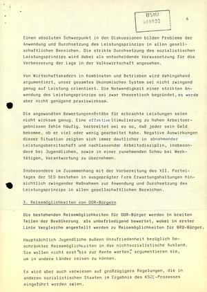 Reaktionen der Bevölkerung zur Fluchtwelle aus der DDR