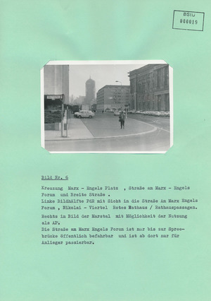 Fotodokumentation des Bereichs um den Palast der Republik