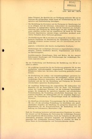 Richtlinie 1/76 zur Bearbeitung Operativer Vorgänge