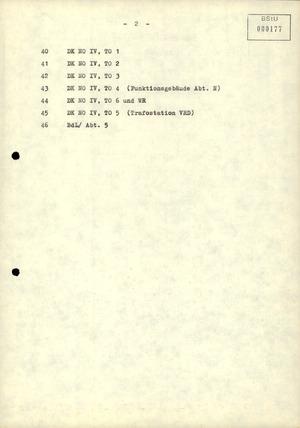 Übersichtskarten der Stasi-Zentrale in Berlin-Lichtenberg