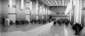 20. Jahrestag des Ministeriums für Staatssicherheit im Staatsratsgebäude während der Grippepandemie 1970