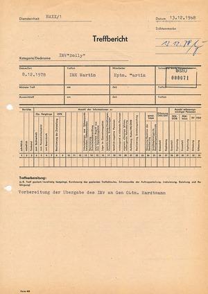"""Bericht zu einem Treff mit der Anwältin IMV """"Dolly"""""""