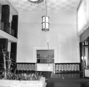 """Innenansichten des Foyers von """"Haus 1"""" der Stasi-Zentrale"""