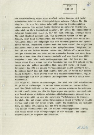 Vernehmungsprotokoll Werner Teskes vom 3. bis 5. Dezember 1980