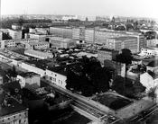 Die Stasi-Zentrale in Berlin-Lichtenberg in den 70er Jahren