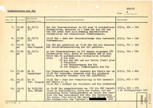 Lagefilm der Stasi zum Konzert mit Udo Lindenberg im Palast der Republik