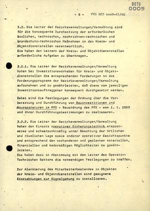"""Anweisung 10/80 zur """"Gewährleistung der Sicherheit der Dienstgebäude des MfS"""""""