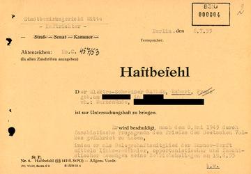 """Haftbefehl gegen den Rostocker """"Rädelsführer"""" Robert Dahlem"""