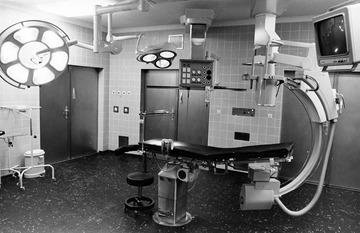 Innenaufnahmen des Stasi-Krankenhauses Berlin-Buch