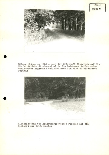 """Bilddokumentation zur Grenzschleuse """"Zwerg"""" im Harz"""