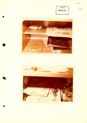 Bildbericht der Wohnungsdurchsuchung bei Werner Teske
