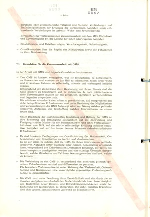 Richtlinie 1/79 für die Arbeit mit Inoffiziellen Mitarbeitern und Gesellschaftlichen Mitarbeitern für Sicherheit