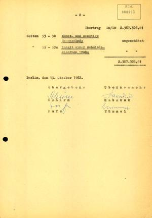 """Auflistung über konfiszierte Wertgegenstände der Aktion """"Licht"""""""